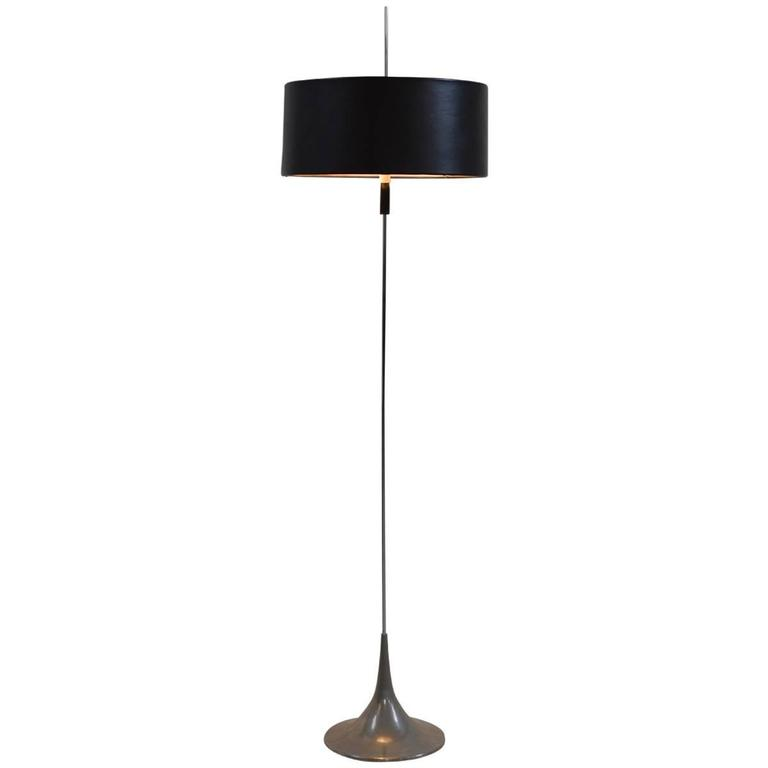 Tulip floor lamp by hans jorg walter and josef kuntner for for Tulip floor lamp chrome