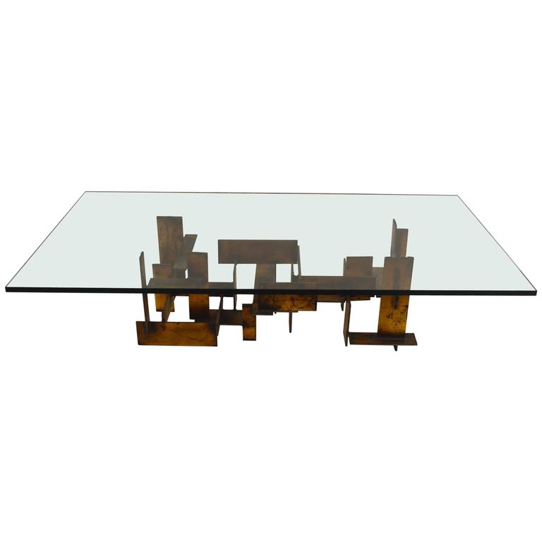 Brutalist Table by Silas Seandel