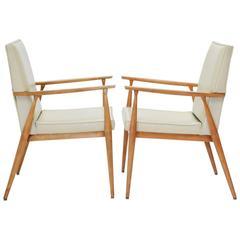 Pair of Paul McCobb Armchairs