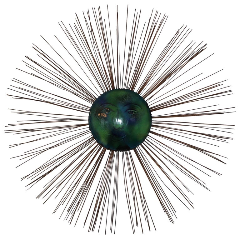 C. Jere Moon Starburst Wall Sculpture For Sale