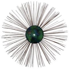 C. Jere Moon Starburst Wall Sculpture