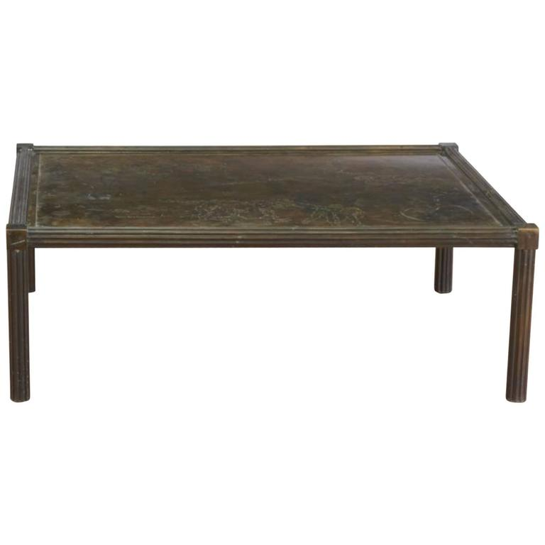 """Fine Philip and Kelvin LaVerne """"Classical"""" Coffee Table"""