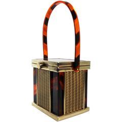 Lucite Tortoiseshell Handbag by Tyrolean, New York