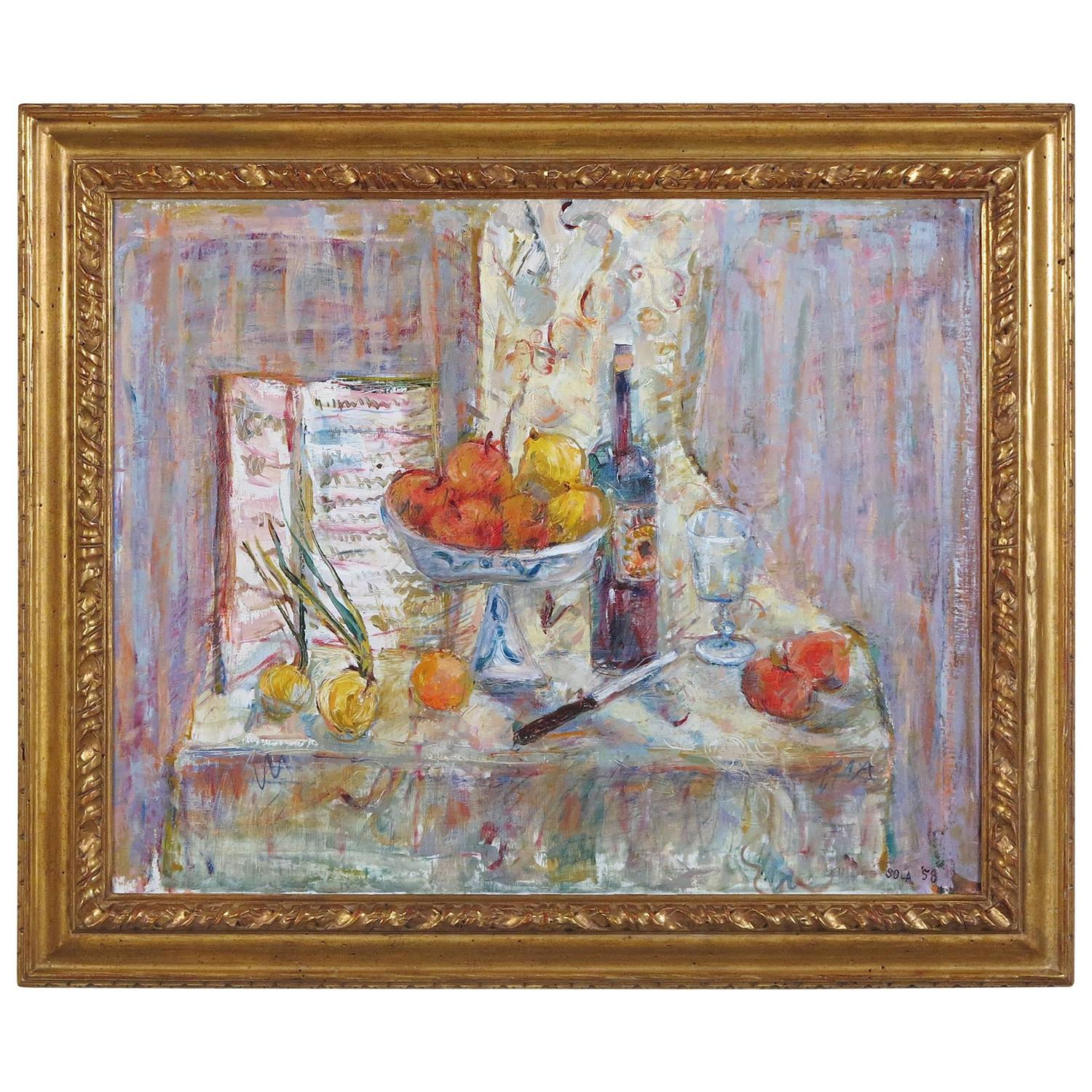 Still Life by Louis Sola at 1stdibs