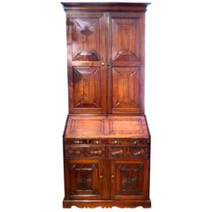Anglo Indian Padouk Wood Bureau Cabinet