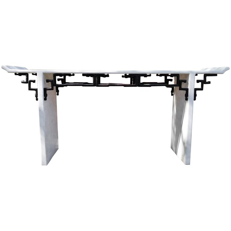 Maitland Smith Asian Style Alter Console Table