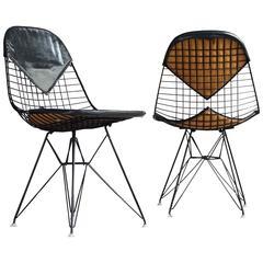 Eames Black-on-Black Bikini Chairs