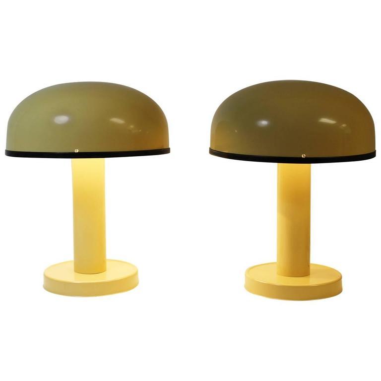 Pair of ABO Randers Danish Lamps