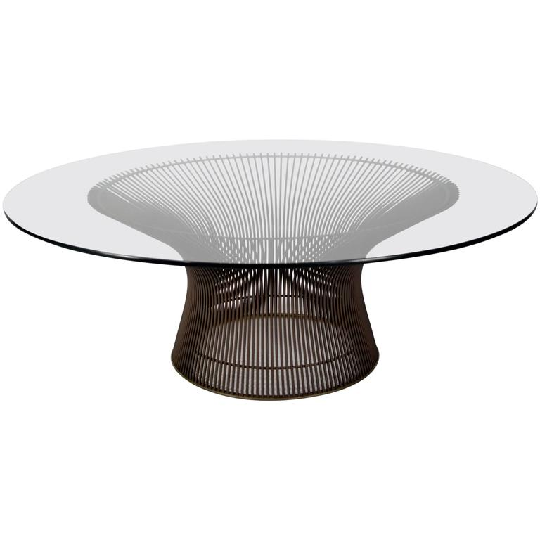 this warren platner bronze finish coffee table is no longer available