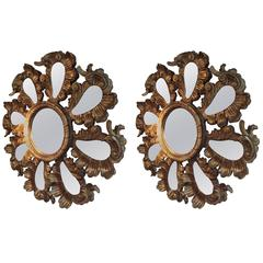 19th Century Almost Pair of Mirrors