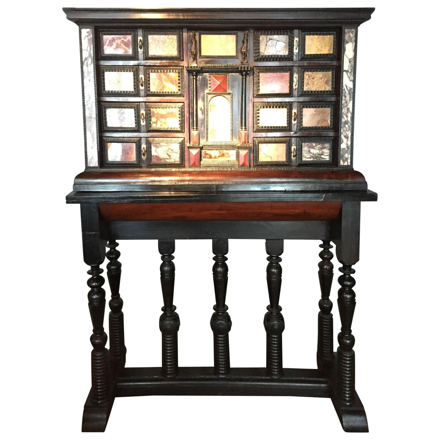 Display cabinet with marble drawers for sale at 1stdibs for Kitchen drawers for sale