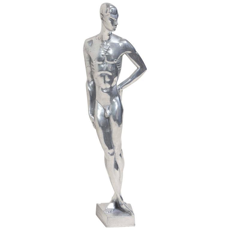 Les hommes nus poilus - Un homme nu