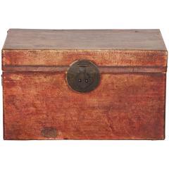 Leather Document Box