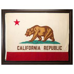 California Vintage Bear Flag, circa Early to Mid-20th Century