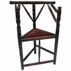 Primitive Corner Chair