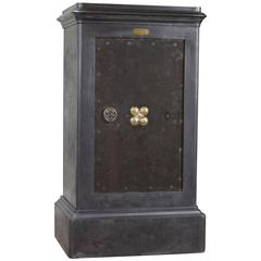 French Industrial Cast Iron Safe Bauche, circa 1930