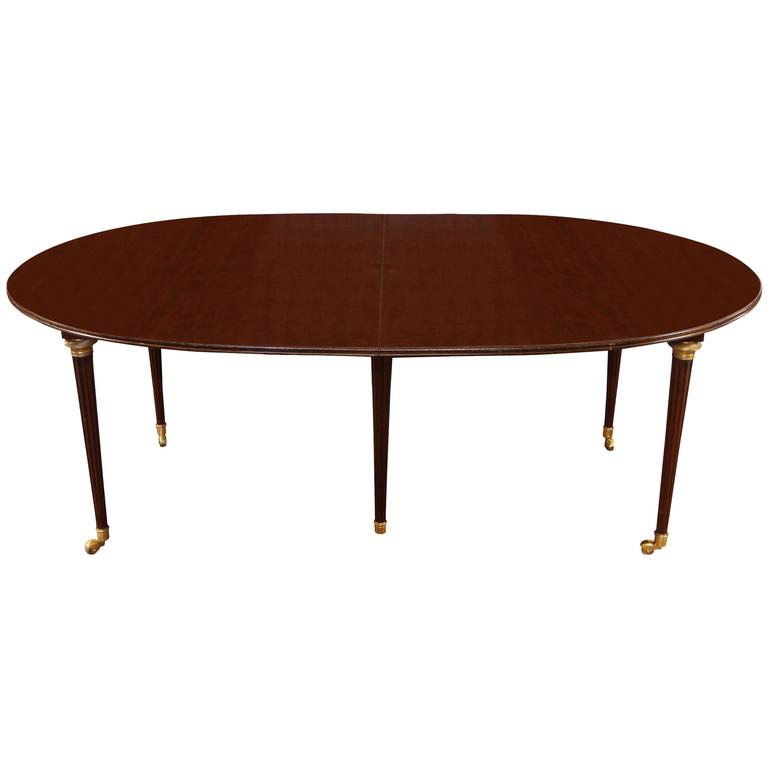 Mahogany Banquet Table in the Manner of Jansen at 1stdibs : 4628163l from www.1stdibs.com size 768 x 768 jpeg 15kB