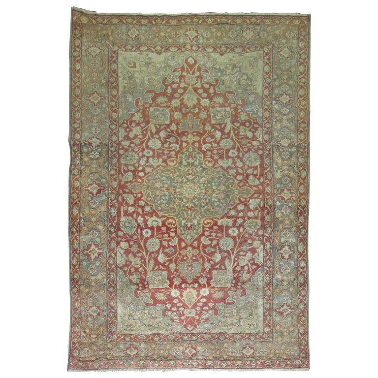 Antique Turkish Sivas Carpet