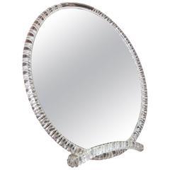 Exquisite Lucite Table Mirror