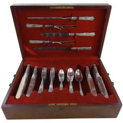 Imperial by Gorham Sterling Silver Flatware Set Service 80 Pieces in Fitted Box