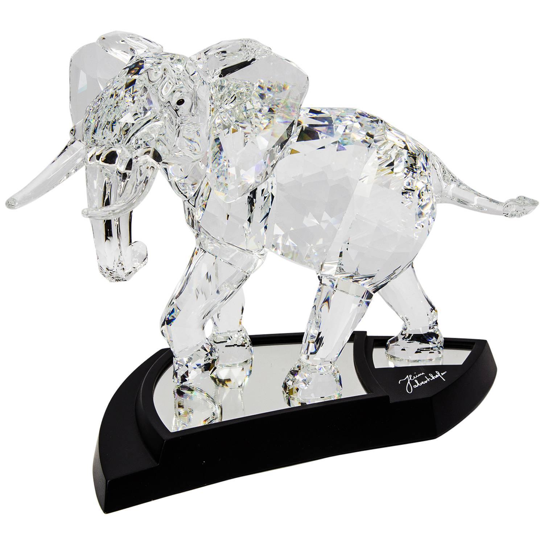 Swarovski crystal elephant sculpture 2006 limited edition - Swarovski weihnachtsstern 2006 ...