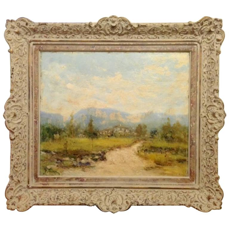 Cuban Mountain Landscape Painting