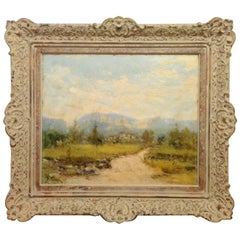 Cuban Mountain Landscape Painting