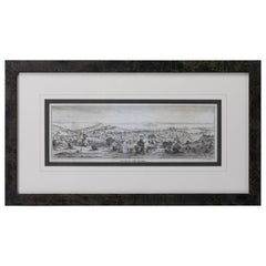 """San Francisco, Upper California"" 1851 Lettersheet Lithograph by Britton & Rey"