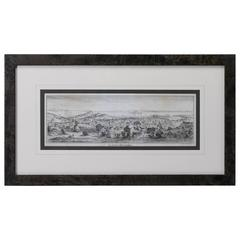 """""""San Francisco, Upper California"""" 1851 Lettersheet Lithograph by Britton & Rey"""