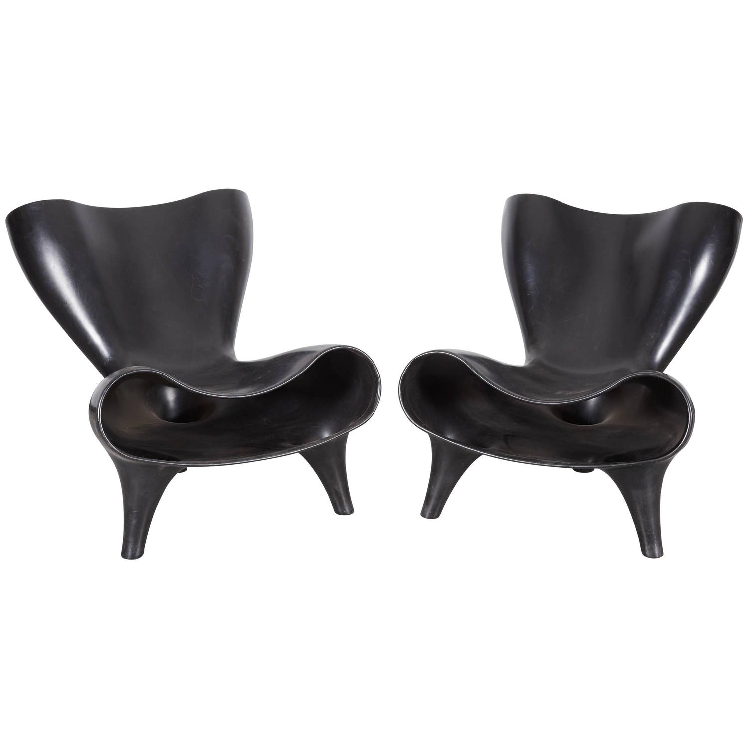 sc 1 st  1stDibs & Pair of Marc Newson Plastic Orgone Chairs at 1stdibs
