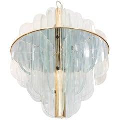 Lightolier Art Deco Style Chandelier