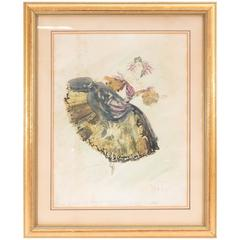 "Cecil Beaton, Design for Dancer ""La Dame Aux Camélias,"" Signed and Dated"