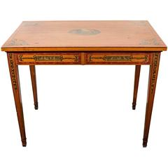 English 19th Century Georgian Style Table and Desk