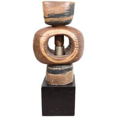 Phyllis Hammond Ceramic Abstract Sculpture