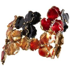 Enameled Panze Bracelet by Osanna and Madina Visconti