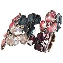 Panze Enameled Bracelet by Osanna and Madina Visconti