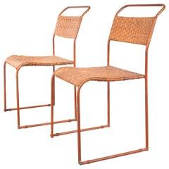 Set of Two Bauhaus Prototype Dining Chairs, circa 1930