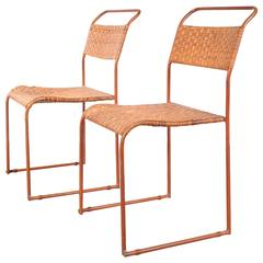 Set of Two Bauhaus Prototype Dining Chairs, circa 1930