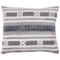 Southeast Asian Yao Tribal Silk Ribbon Pillow