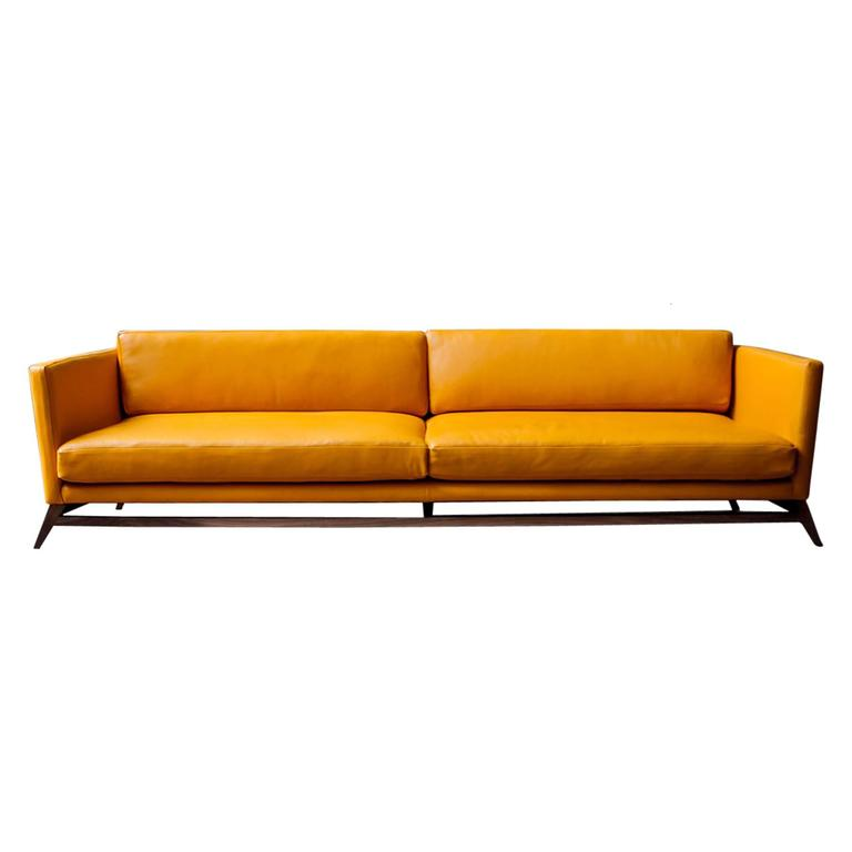 luteca eclipse sofa handcrafted in mexico with wood and. Black Bedroom Furniture Sets. Home Design Ideas