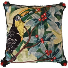 Toucan Needlepoint Pillow