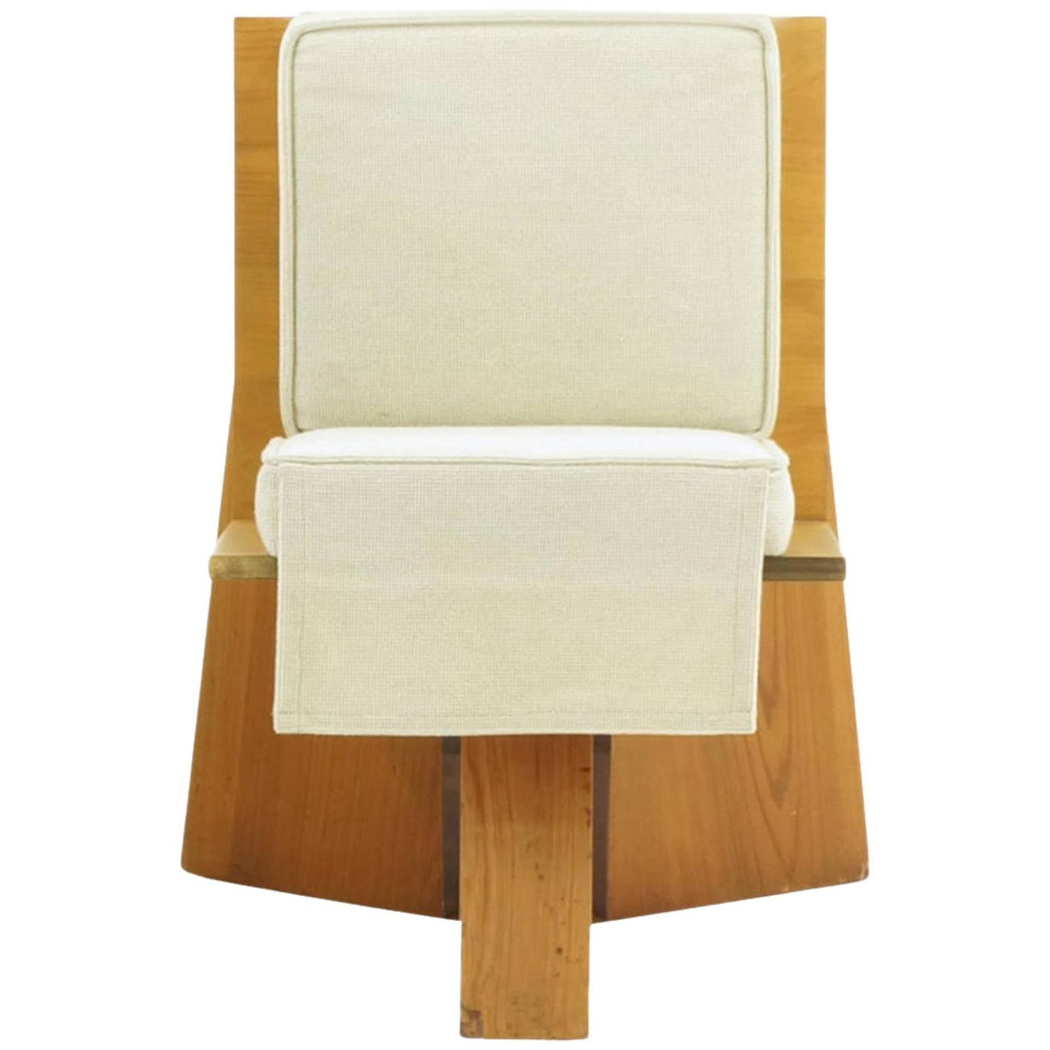 Surprising Frank Lloyd Wright Chair From The Sondern House Kansas City Theyellowbook Wood Chair Design Ideas Theyellowbookinfo