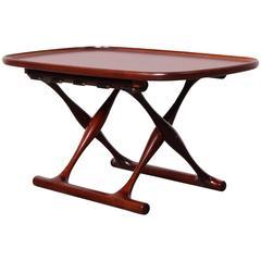 Poul Hundevad Rosewood Guldhoj Stool / Table