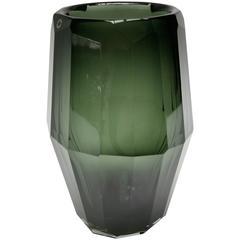 Hermes Murano Green Glass Vase