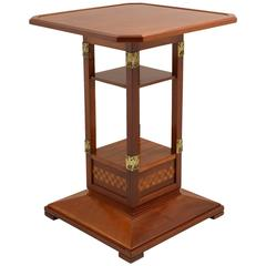 Italian 1905 Jugendstil Side Table by Spicciani, Lucca -Italy