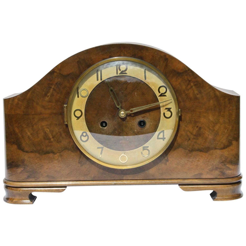 Art Deco Kienzle Superia Mantel Clock at 1stdibs