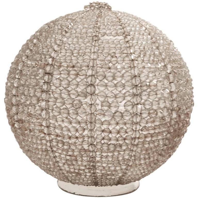 Crystal Ball Hanging Globe