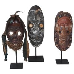 Three Primitive Masks