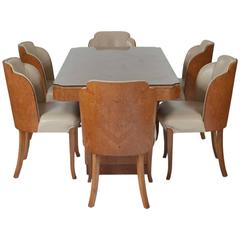 Epstein Burr Maple Dining Set