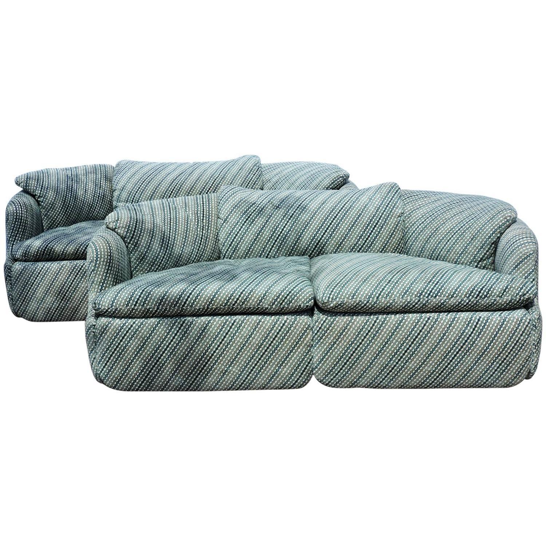 """Missoni Home 3 Seat Sofa Gravita: Saporiti Italia """"Confidential"""" Two-Seat Sofas By Alberto"""